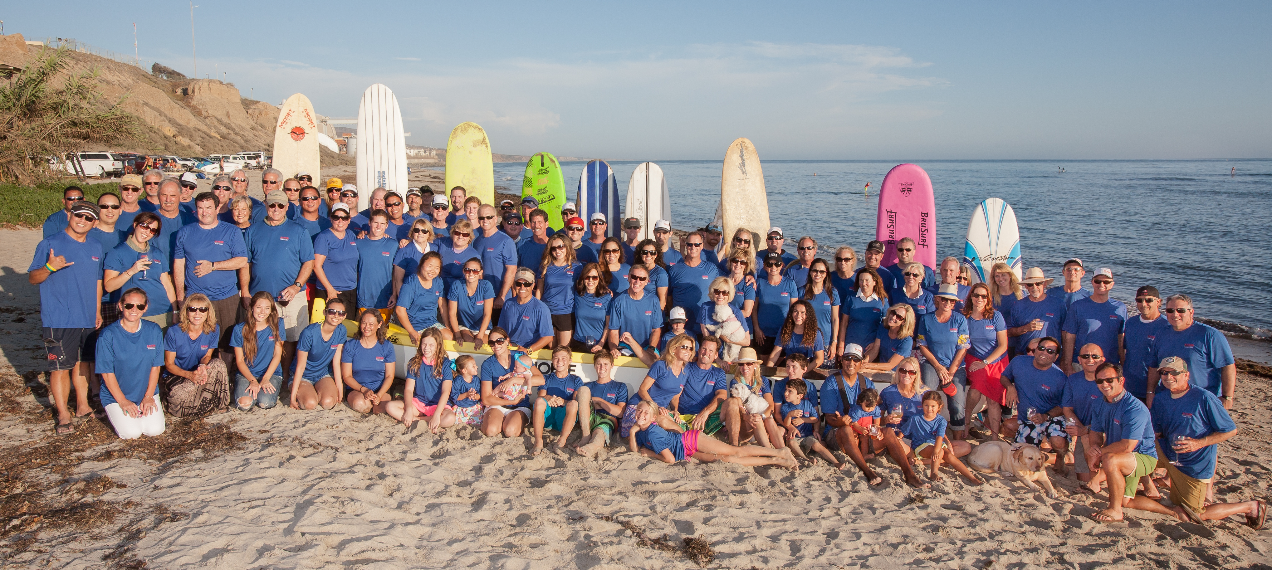 2013 Surf Camp Group Shot