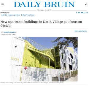 Daily Bruin_Strathmore