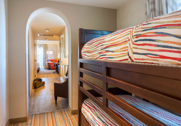 king bunk suite