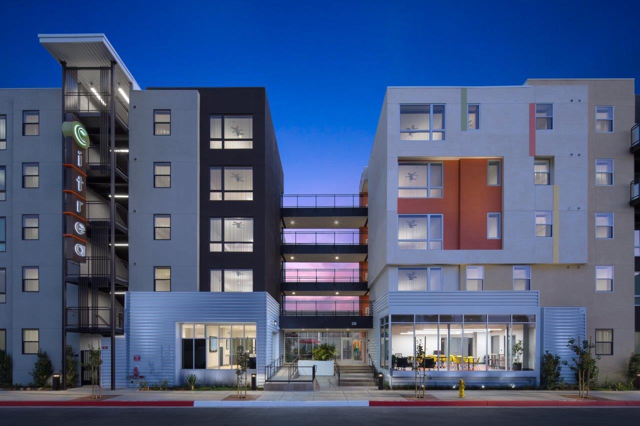 Citrea Apartments exterior_dusk_mod