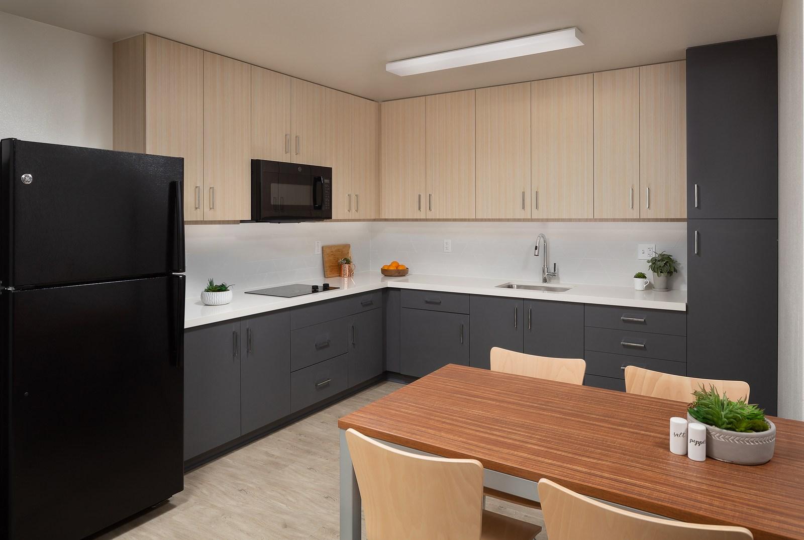 The K Residence Hall at Chapman University RD Olson Construction - L_kitchen