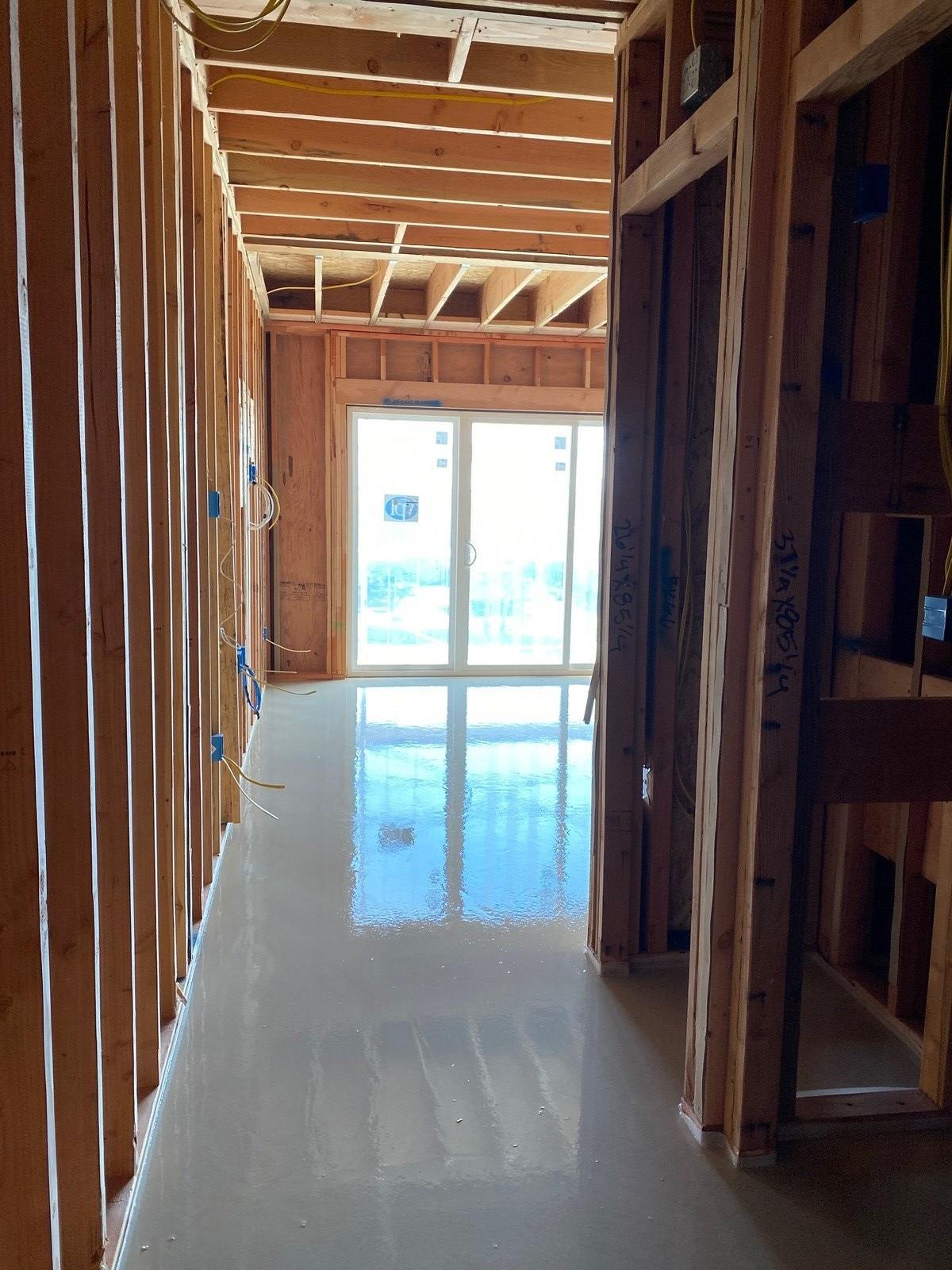 Courtyard Guestroom Concrete Pour