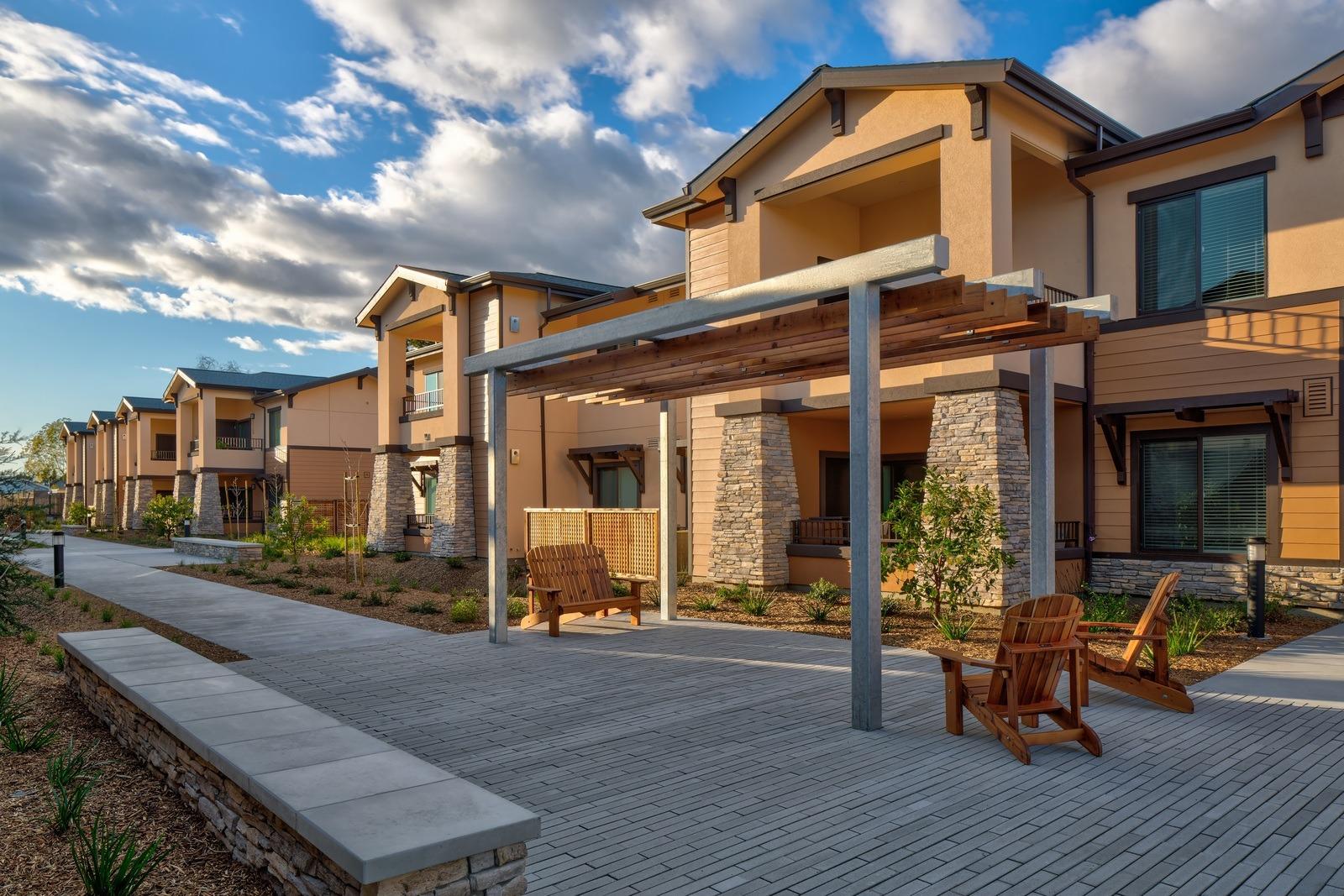 Hopper courtyard
